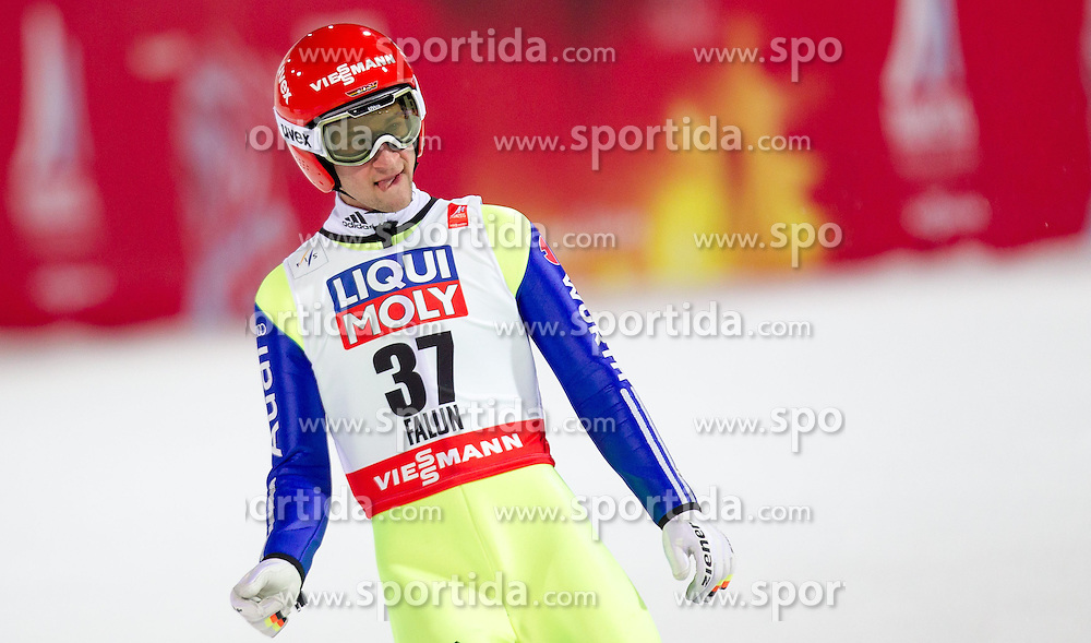 26.02.2015, Lugnet Ski Stadium, Falun, SWE, FIS Weltmeisterschaften Ski Nordisch, Skisprung, Herren, Finale, im Bild Markus Eisenbichler (GER) // Markus Eisenbichler of Germany during the Mens Skijumping Final of the FIS Nordic Ski World Championships 2015 at the Lugnet Ski Stadium, Falun, Sweden on 2015/02/26. EXPA Pictures © 2015, PhotoCredit: EXPA/ JFK