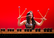 All the way from Taiwan, special guest, Pei-Ching Wu played the marimiba with percussionist from Ohio University but also as a solo act at Ohio University's 4th Annual World Music & Dance Concert, Global Excursions, on Satruday, February 2, 2013.