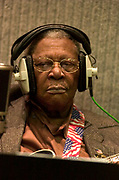 BB King at Olympic Studios London - 2005