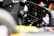 Steering wheel detail<br /> 64th Macau Grand Prix. 15-19.11.2017.<br /> Suncity Group Formula 3 Macau Grand Prix - FIA F3 World Cup<br /> Macau Copyright Free Image for editorial use only
