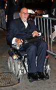Artist Chuck Close attends The Whitney Museum of American Art's Gala and Studio Dinner in New York City on October 19, 2009.