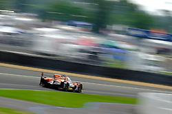 June 15, 2018 - Le Mans, Sarthe, France - G-Drive Racing ORECA 07 Gibson Driver JAMES ALLEN (AUS) in action during the 86th edition of the 24 hours of Le Mans 2nd round of the FIA World Endurance Championship at the Sarthe circuit at Le Mans - France (Credit Image: © Pierre Stevenin via ZUMA Wire)