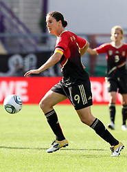 03.06.2011, Osnatel Arena, Osnabrueck, GER, WM 2012 FSP,  Deutschland (GER) vs Italien (ITA), .im Bild Birgit Prinz (GER) during the WM 2011 Friendly Game, Germany vs Italy, at Osnatel Arena, Osnabrück, 2011-06-03, .EXPA Pictures © 2011, PhotoCredit: EXPA/ nph/  Hessland       ****** out of GER / SWE / CRO  / BEL ******