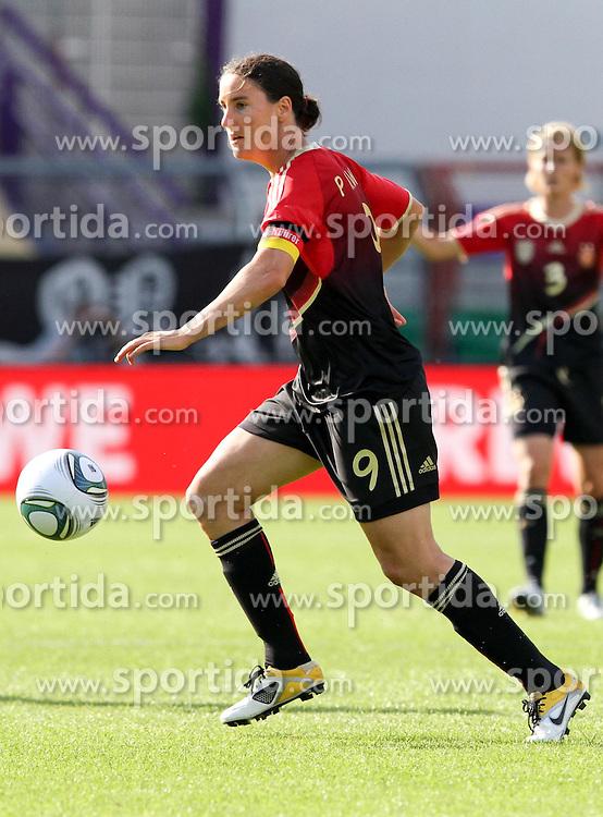 03.06.2011, Osnatel Arena, Osnabrueck, GER, WM 2012 FSP,  Deutschland (GER) vs Italien (ITA), .im Bild Birgit Prinz (GER) during the WM 2011 Friendly Game, Germany vs Italy, at Osnatel Arena, Osnabrück, 2011-06-03, .EXPA Pictures © 2011, PhotoCredit: EXPA/ nph/  Hessland       ****** out of GER / SWE / CRO  / BEL ******