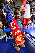 Piccola Tifosa Baxi Manresa<br /> Banco di Sardegna Dinamo Sassari - Baxi Manresa<br /> FIBA Basketball Champions League BCL 2019-2020<br /> Sassari, 03/12/2019<br /> Foto L.Canu / Ciamillo-Castoria