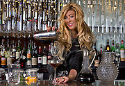 Mariena Mercer is a bartender at the Chandelier Bar in the Cosmopolitan.