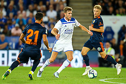 Callum Elder of Leicester City - Mandatory by-line: Robbie Stephenson/JMP - 01/08/2018 - FOOTBALL - King Power Stadium - Leicester, England - Leicester City v Valencia - Pre-season friendly