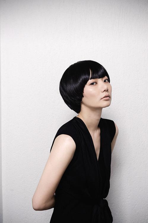Air Doll (Kuki Ningyo)'s KORE-EDA Hirokazu: actress BAE Doona at the Cannes Film Festival. France. 14 May 2009. Photo: Antoine Doyen