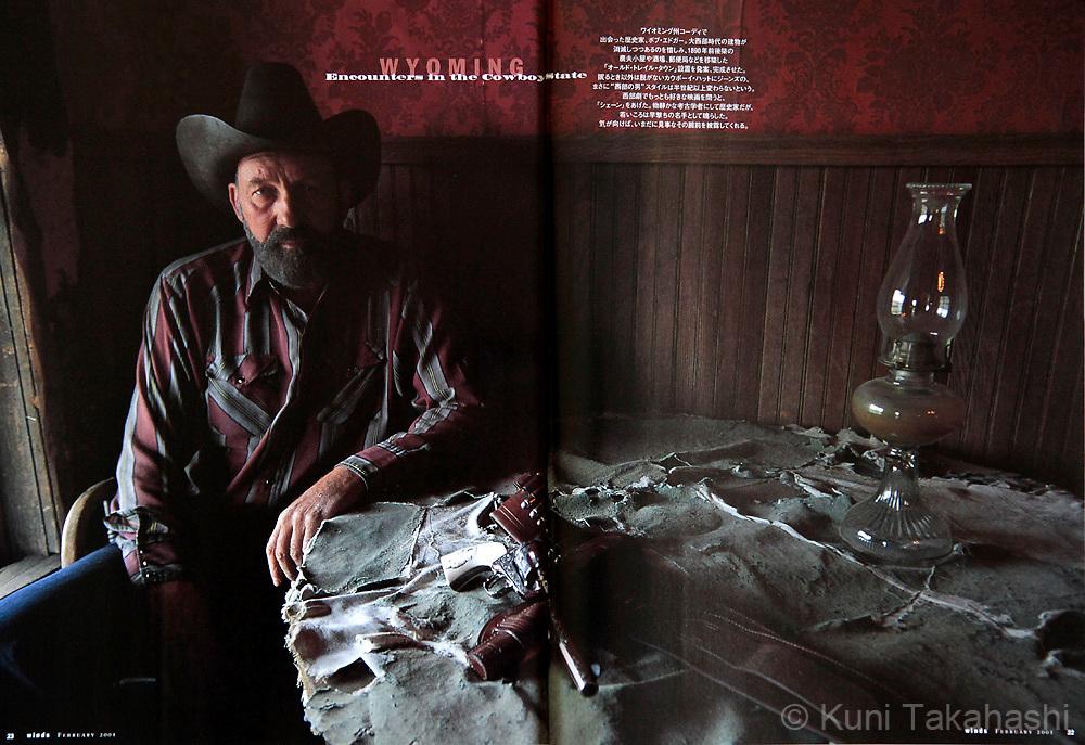 Tim Duffy in G--, Kashmir.Photo by Kuni Takahashi