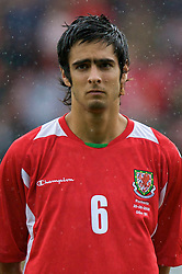WREXHAM, WALES - Wednesday, August 20, 2008: Wales' Rhys Williams before the UEFA Under 21 European Championship Qualifying Group 10 match against Romania at the Racecourse Ground. (Photo by David Tickle/Propaganda)