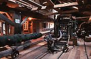 Deutschland, Germany,Baden-Wuerttemberg.Schwarzwald.Seelbach, Glatz Mühle (Museumswassermühle) an der Schutter: Sägewerk.Seelbach, water mill museum...
