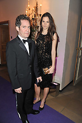 TOM HOLLANDER and FRAN HICKMAN at The Surrealist Ball in aid of the NSPCC in association with Harpers Bazaar magazine held at the Banqueting House, Whitehall, London on 17th March 2011.