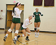 High School Volleyball - Maquoketa vs Dyersville Beckman - October 11, 2012