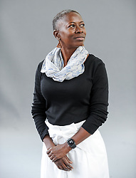 Pictured: Acclaimed Barbadian author Karen Lord at the Book Festival.<br /> <br /> © Dave Johnston / EEm