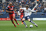Preston North End Midfielder Adam Reach during the during the Sky Bet Championship match between Preston North End and Queens Park Rangers at Deepdale, Preston, England on 19 March 2016. Photo by Pete Burns.