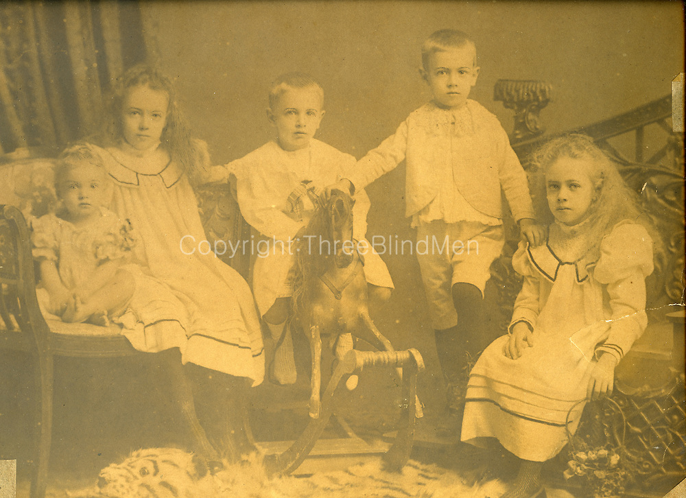 Five Children and a Rocking Horse.<br />