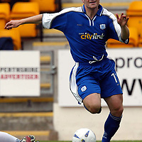 St Johnstone v Ross County..  21.09.02<br />Craig Russell<br /><br />Pic by Graeme Hart<br />Copyright Perthshire Picture Agency<br />Tel: 01738 623350 / 07990 594431