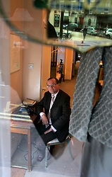 UK ENGLAND LONDON 4APR06 - Her Majesty Queen Elizabeth's clothes designer Karl-Ludwig Rehse inside his couture shop in Chiltern Street, Marylebone, cental London. Rehse (68), a native of Essen, Germany, obtained his Royal Warrant in 2000 as the official supplier of Her Majesty Queen Elizabeth II...jre/Photo by Jiri Rezac..© Jiri Rezac 2006..Contact: +44 (0) 7050 110 417.Mobile:  +44 (0) 7801 337 683.Office:  +44 (0) 20 8968 9635..Email:   jiri@jirirezac.com.Web:    www.jirirezac.com..© All images Jiri Rezac 2006 - All rights reserved.