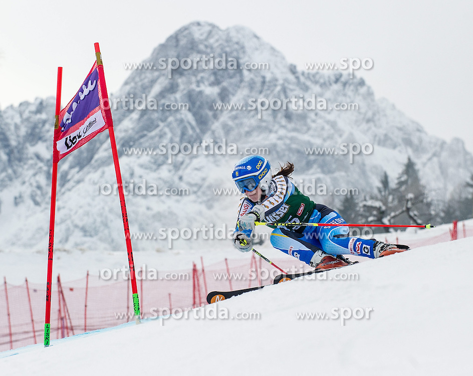 28.12.2013, Hochstein, Lienz, AUT, FIS Weltcup Ski Alpin, Lienz, Riesentorlauf, Damen, 1. Durchgang, im Bild Maria Pietilae-Holmner (SWE) // during the 1st run of ladies giant slalom Lienz FIS Ski Alpine World Cup at Hochstein in Lienz, Austria on 2013-12-28, EXPA Pictures © 2013 PhotoCredit: EXPA/ Michael Gruber