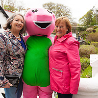 Pegga Knox and Nora Connaghan from Doolin enjoying the family fun day during the enjoying the family fun day during the opening of restored Spa Well in Lisdoonvarna