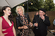 EMMA MILLER; ELLEN VON UNWORTH: SASHA LILIC 2016 SERPENTINE SUMMER FUNDRAISER PARTY CO-HOSTED BY TOMMY HILFIGER. Serpentine Pavilion, Designed by Bjarke Ingels (BIG), Kensington Gardens. London. 6 July 2016