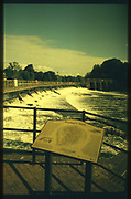 Maidenhead, Berkshire, UK.  <br /> <br /> General view,  Raymill Weir. River Thames,  <br /> <br /> <br /> Wednesday. 24.05.2017 <br /> <br /> © Peter SPURRIER,<br /> <br /> Contax G2. 28/45/90 mm len's. Rollei Chrome 200