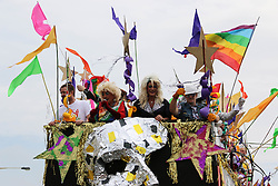 © Hugo Michiels Photography. Brighton, UK. Thousands of people take part in the parade at Pride Brighton 2014. Photo Credit: Hugo Michiels