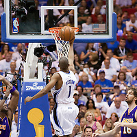 BASKET BALL - PLAYOFFS NBA 2008/2009 - LOS ANGELES LAKERS V ORLANDO MAGIC - GAME 3 -  ORLANDO (USA) - 09/06/2009 - .RAFER ALSTON (MAGIC)