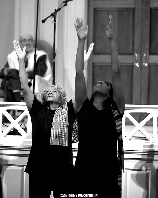 The Agape Liturgical Dancers from Turner Memorial AME Church perform at the 7th Annual Dr. Martin Luther King, Jr. Shabbat at the Sixth & I Synagogue in Washington, DC on Friday, January 14, 2011.