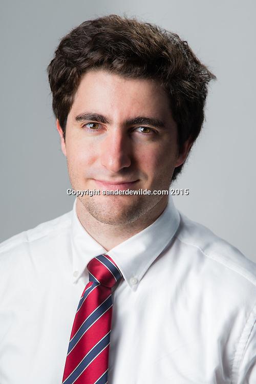 Portrait of Nicolas Goncalves Roger Brussels Belgium 26/10/2015 ©sanderdewilde.com