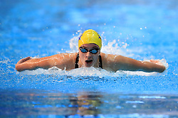 Ciara Schlosshan competes in the Women's Junior 200m Butterfly during day three of the 2017 British Swimming Championships at Ponds Forge, Sheffield.