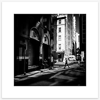&quot;Time Out&quot;, York Lane, Sydney. From the Ephemeral Sydney street series.<br /> <br /> As featured in my Head On Photo Festival 2018 associated exhibition &ldquo;Ephemeral Sydney&rdquo;.<br /> <br /> Available print sizes (unframed): <br /> <br /> 30 x 30 cm - Limited edition of six (6) signed &amp; numbered pigment ink prints on Hahnem&uuml;hle Photo Rag Bright White archival paper + maximum two (2) artist&rsquo;s proofs - $220<br /> <br /> 50 x 50 cm &ndash; Limited edition of six (6) as above - $450<br /> <br /> Framed prints available for delivery to Sydney metro area. POA.<br /> <br /> Price includes GST &amp; delivery within Australia.<br /> <br /> To order please email orders@girtbyseaphotography.com