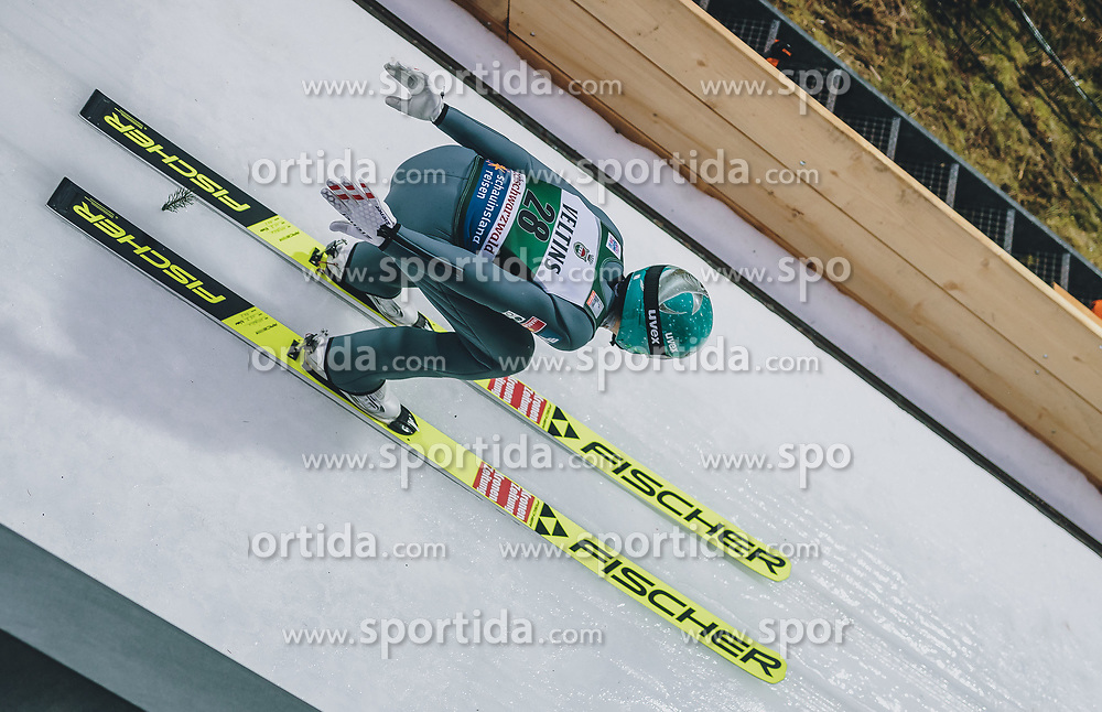 17.01.2020, Hochfirstschanze, Titisee Neustadt, GER, FIS Weltcup Ski Sprung, im Bild Michael Hayboeck (AUT) // Michael Hayboeck of Austria during the FIS Ski Jumping World Cup at the Hochfirstschanze in Titisee Neustadt, Germany on 2020/01/17. EXPA Pictures © 2020, PhotoCredit: EXPA/ JFK