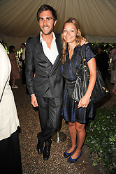 OSCAR HUMPHRIES and SARA PHILIPPIDIS at the Apollo Magazine Summer Party held at 22 Old Queen Street, London, SW1 on 29th June 2010.