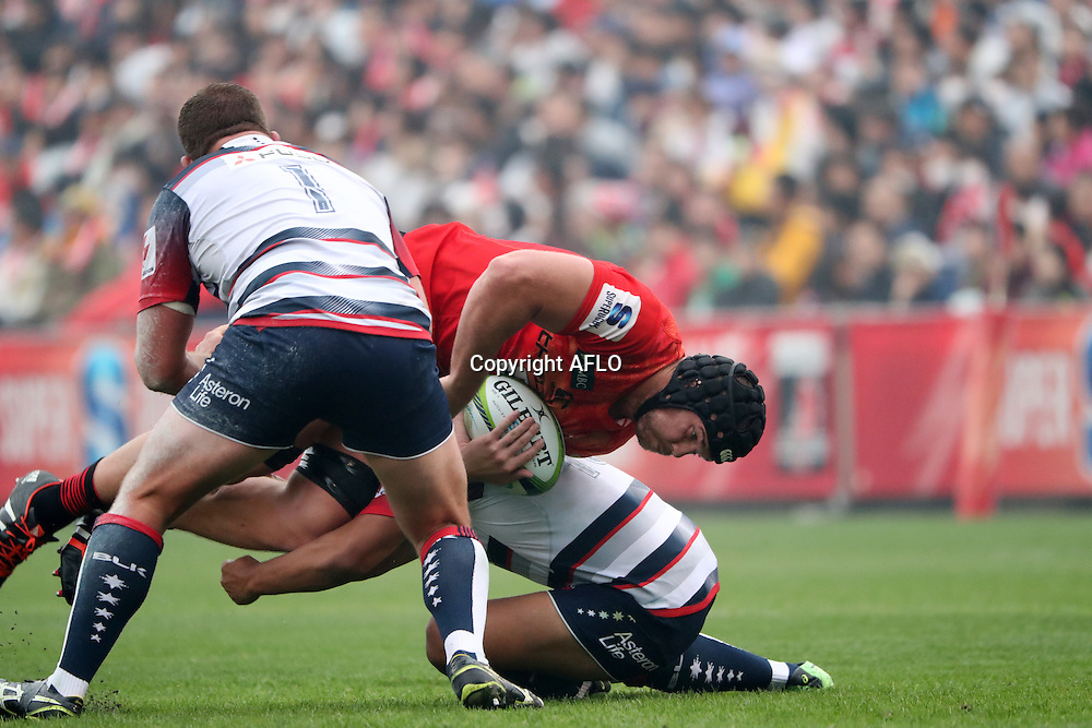 Timothy Bond (Sunwolves),<br /> MARCH 19, 2016 - Rugby : Super Rugby match between Sunwolves 9-35 Melbourne Rebels at Prince Chichibu Memorial Stadium in Tokyo, Japan. (Photo by AFLO)