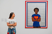 Icon for My Man (superman never saved any black people ) by Barkley Hendricks - Soul of a Nation: Art in the Age of Black Power, Tate Modern's new exhibition exploring what it meant to be a Black artist during the Civil Rights movement.  The exhibition is at Tate Modern from 12 July – 22 October 2017.