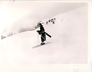 Lord Xan Rufus Isaacs D.S.C Ski Race St.Moritz 1983 ONE TIME USE ONLY - DO NOT ARCHIVE  © Copyright Photograph by Dafydd Jones 66 Stockwell Park Rd. London SW9 0DA Tel 020 7733 0108 www.dafjones.com