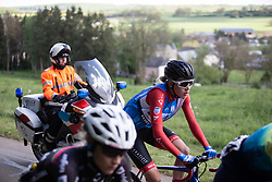 Aafke Soet (NED) of WNT Rotor Pro Cycling climb on Stage 2 of 2019 Festival Elsy Jacobs, a 111.1 km road race starting and finishing in Garnich, Luxembourg on May 12, 2019. Photo by Balint Hamvas/velofocus.com