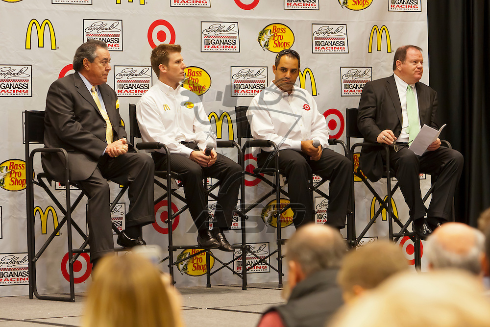 Concord, NC - January 24, 2012:  The NASCAR makes its' stop at the Embassy Suites Hotel in Concord, NC for Chip Ganassi Racing with Felix Sabates.