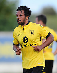 Aston Villa's Kieran Richardson  - Photo mandatory by-line: Joe Meredith/JMP - Mobile: 07966 386802 - 17/07/2015 - SPORT - Football - Albufeira - Estadio Da Nora - Pre-Season Friendly