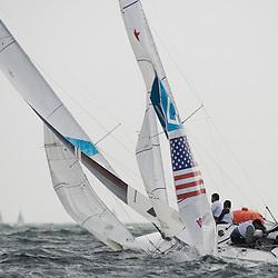 2012 Olympic Games London / Weymouth<br /> MENDELBLATT Mark, Fatih Brian, (USA, Star)