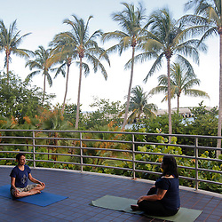 Well 'Canes Yoga Wednesdays at RSMAS: 8/06/14