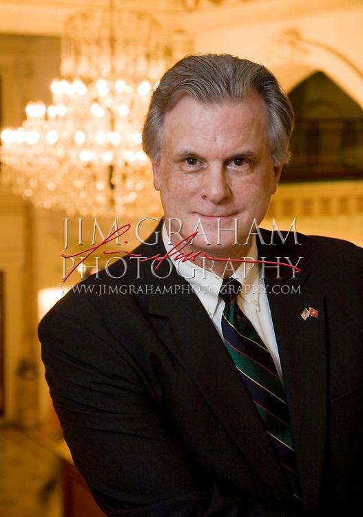 James V. Kelly, CFA, President of Kelly Capital Management, LLC, in Philadelphia, PA., Wednesday March 14, 2007.  (Photograph by Jim Graham)