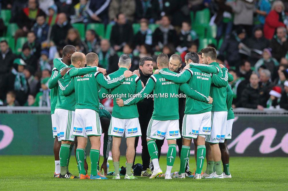 Romain Revelli  - 21.12.2014 - Saint Etienne / Evian Thonon - 19eme journee de Ligue 1<br /> Photo : Jean Paul Thomas / Icon Sport