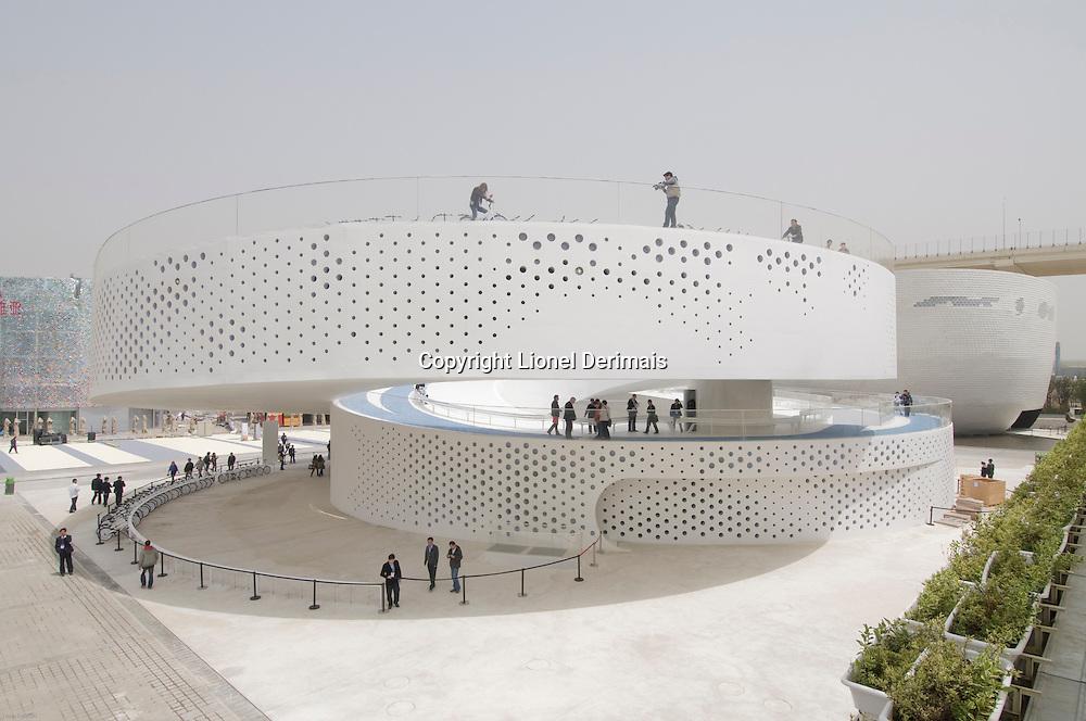 Pavillon danois,  Shanghai Expo 2010.<br /> Danish pavilion,  Shanghai Expo 2010.