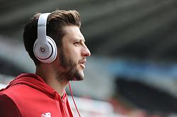 Adam Lallana of Liverpool - Mandatory byline: Alex James/JMP - 01/05/2016 - FOOTBALL - Liberty Stadium - Swansea, Wales - Swansea City v Liverpool - Barclays Premier League