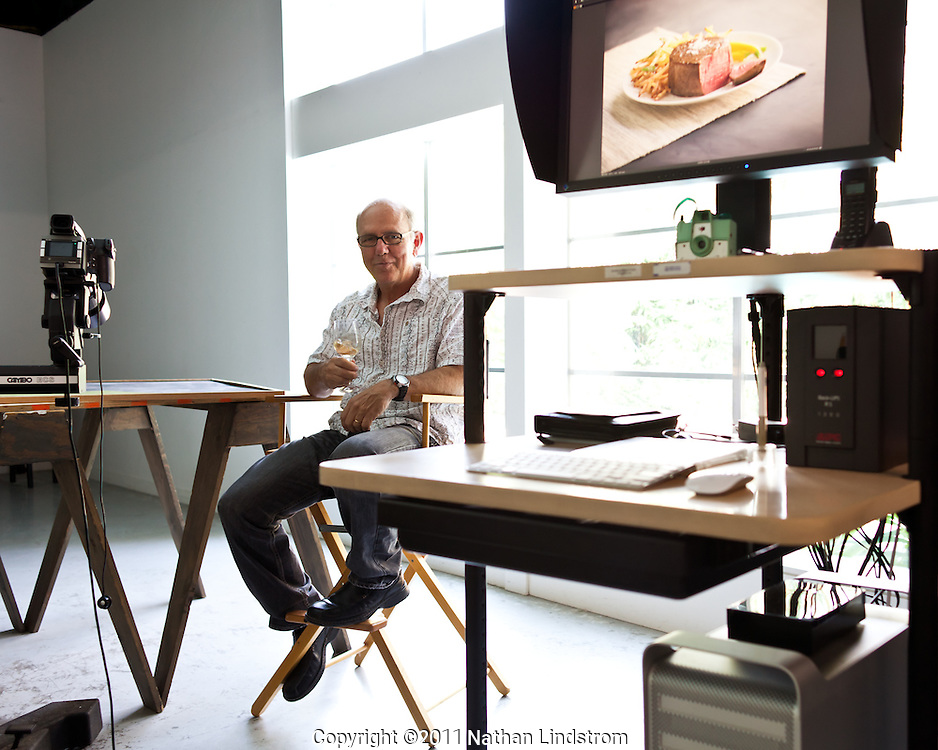 Food and beverage photographer Ralph Smith.