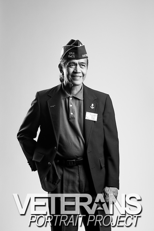 Ben Hur C. Cabiao<br /> Air Force<br /> O-3<br /> Finance<br /> 1970 - 1992<br /> Vietnam<br /> <br /> Veterans Portrait Project<br /> St. Louis, MO