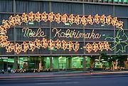 Mele Kalikimaka sign, Honolulu, Oahu, Hawaii<br />