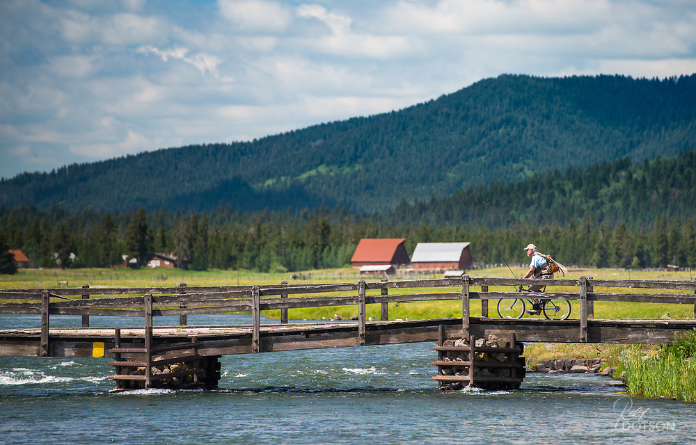 Common transportation on the ranch is walking followed by a close second of biking to the further destinations. But on the north end you have only one bridge to cross and one biking path on the west side.